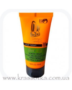 Крем-экран SPF 30 для лица и декольте Luxury Therapy Secret Life BioWorld