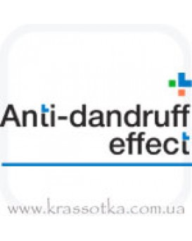 Anti–dandruff effect