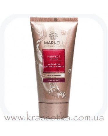 Хайлайтер для лица Bronze Perfect Shine Markell