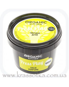 Духи твердые Press Play Organic Kitchen Organic Shop