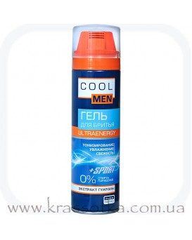 Гель для бритья Ultraenergy Cool men Эльфа