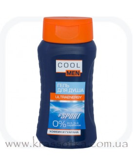 Гель для душа Ultraenergy Cool men Эльфа