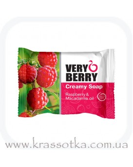 Крем-мыло Малина и масло макадамии Very Berry Эльфа