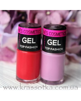 Лак для ногтей Gel Top Fashion Ines