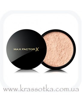 Рассыпчатая пудра для лица Translucent Max Factor