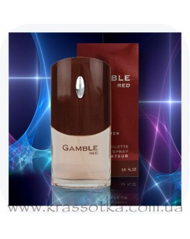 Туалетная вода 061 Gamble red Аромат